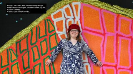 National Arts and Disability Awards 2020. Emily Crockford.