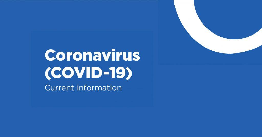 Coronavirus ( COVID - 19 ), Current information